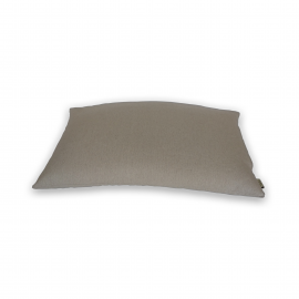 """Подушка для сна льняная с наполнителем из гречихи """"LikeYoga"""" модель 08-12 (38x58 см, микромассаж, гипоаллерген, терморегуляция)"""