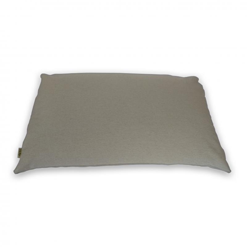 """Подушка для сна на молнии с натуральным наполнителем """"LikeYoga"""" модель 27-17 (48x68 см, гипоаллерген, микромассаж, аэрация)"""